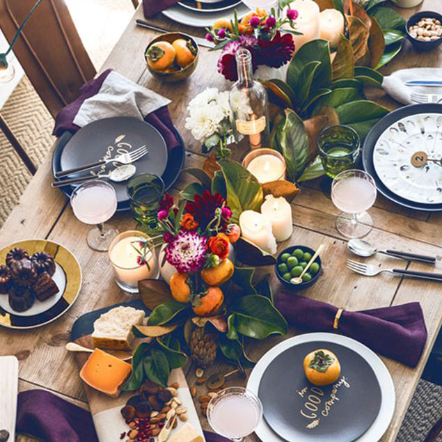 Terrific Turkey Day Tablescapes