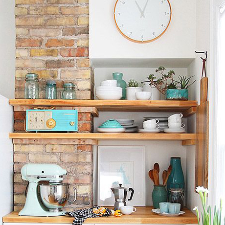 A Brick Kitchen